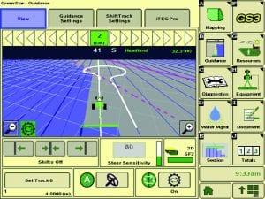 Widok z monitora sterującego iTechPro