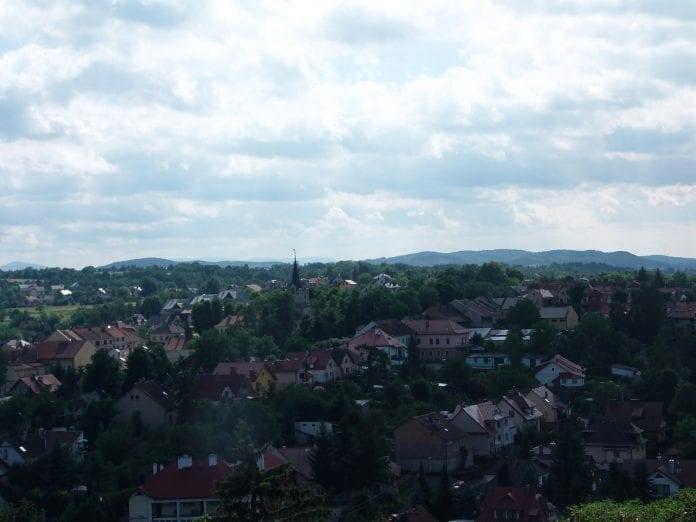 Panorama na miasto