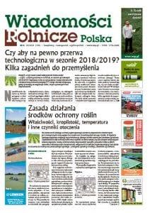 okładka - Wiadomości Rolnicze Polska nr 150