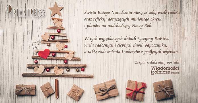 Boże Narodzenie 2018 - Życzenia świąteczne