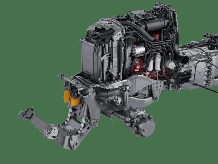 AIRES - nowe pneumatyczne zawieszenie osi przedniej w ciągnikach Valtra serii N