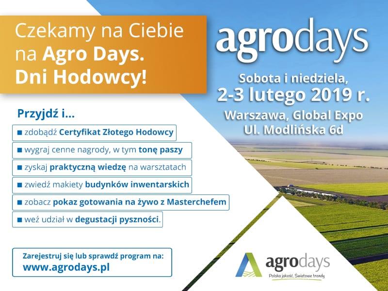 Agro Days - czekamy na Ciebie