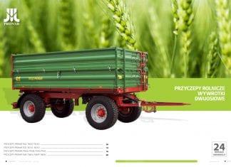 Rośnie rynek przyczep rolniczych