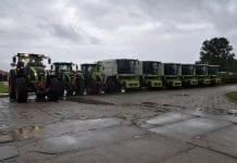 Flota maszyn CLAAS wnajmie długoterminowym dla Lairg Agro Group
