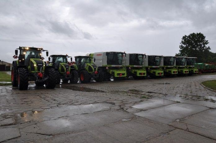 Flota maszyn CLAAS w najmie długoterminowym dla Lairg Agro Group