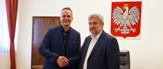 Jan Krzysztof Ardanowski z nowym pełnomocnikiem do spraw ochrony zwierząt, Wojciechem Albertem Kurkowskim