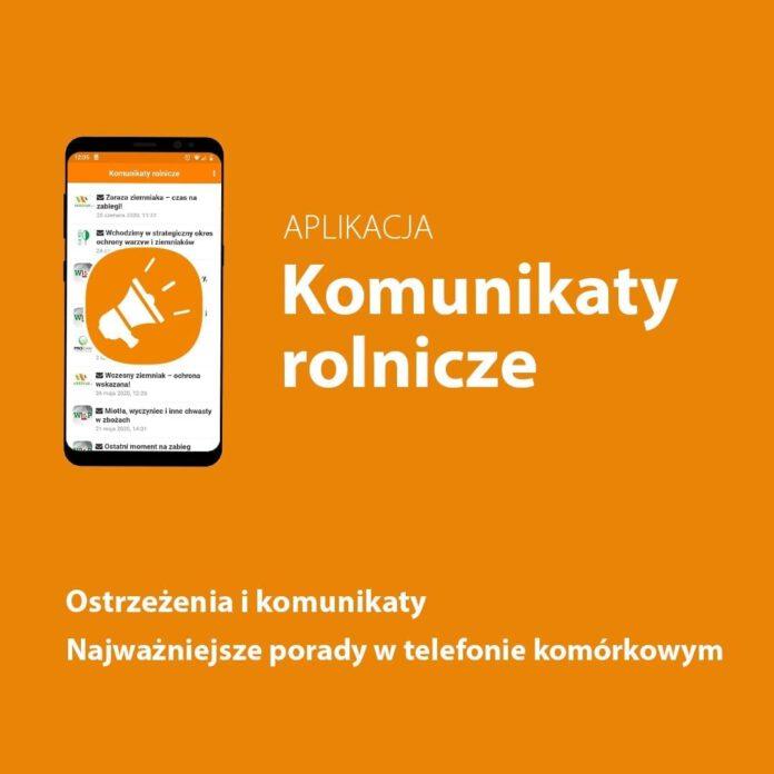 Komunikaty rolnicze - aplikacja