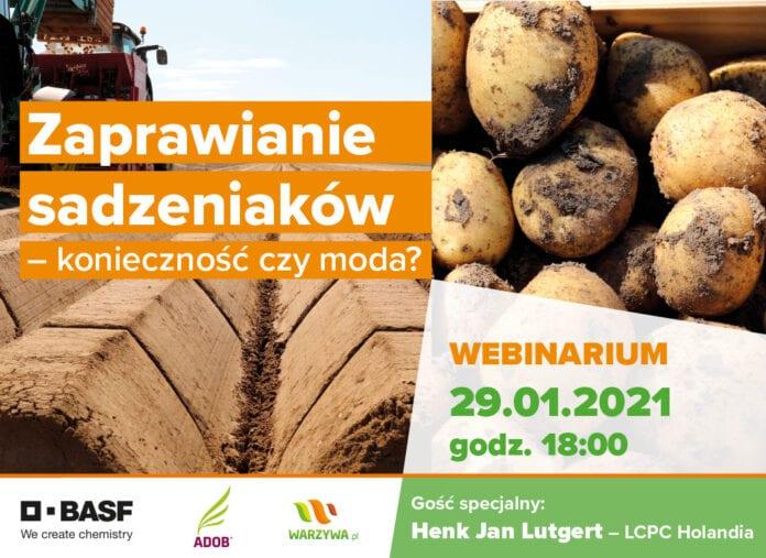 Zaproszenie na webinarium BASF - zaprawienie ziemniaków - konieczność czy moda?