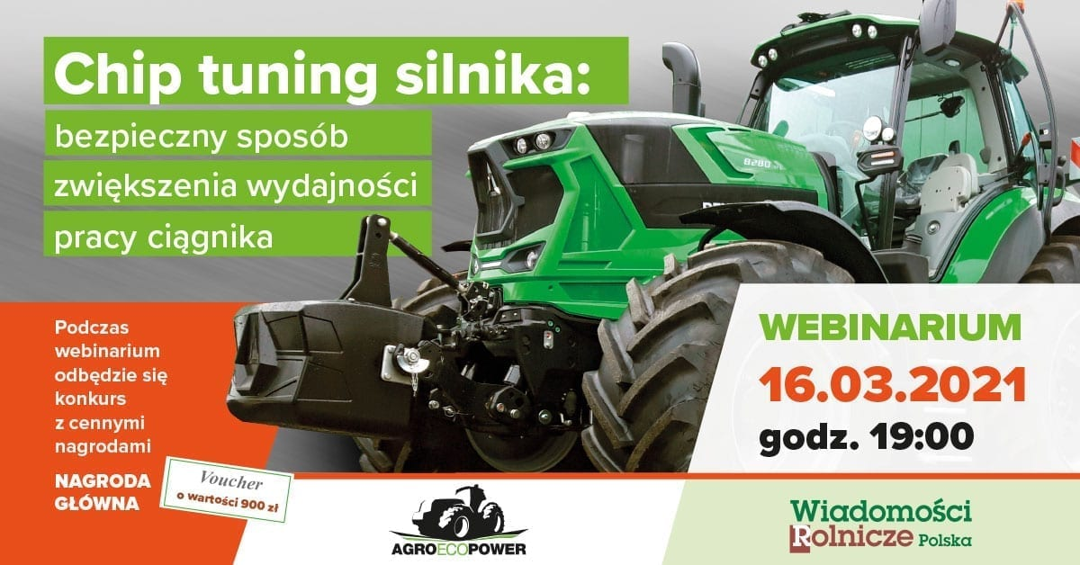 Agroecopower - webinarium 16.03.2021