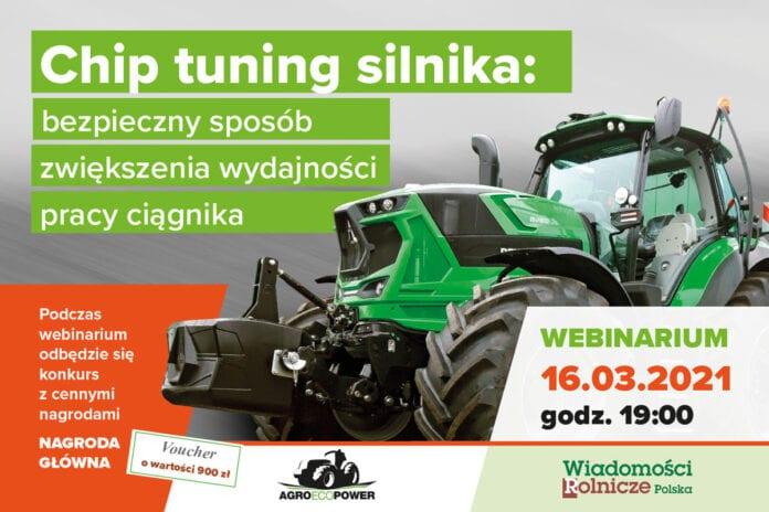 Chip tunning silnika - Agroecopower