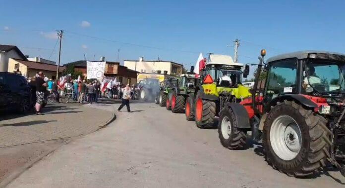 Agrounia - protesty rolnicze